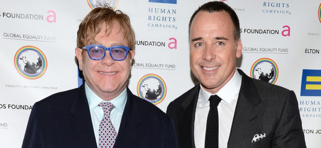 Elton John To Marry Long Term Partner David Furnish In 2014