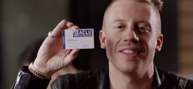 Macklemore Comes Out As An ACLU Supporter In New Video