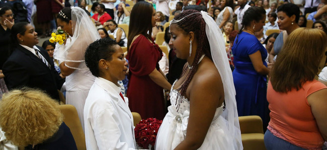 Same-Sex Mass Wedding Hosted In Rio De Janeiro Believed To Be World's Largest