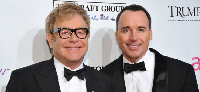 Sir Elton John To Marry David Furnish