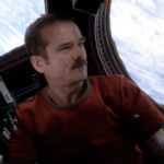 Chris Hadfield covering David Bowie Space Oddity