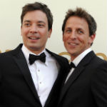 Seth Meyers and Jimmy Fallon