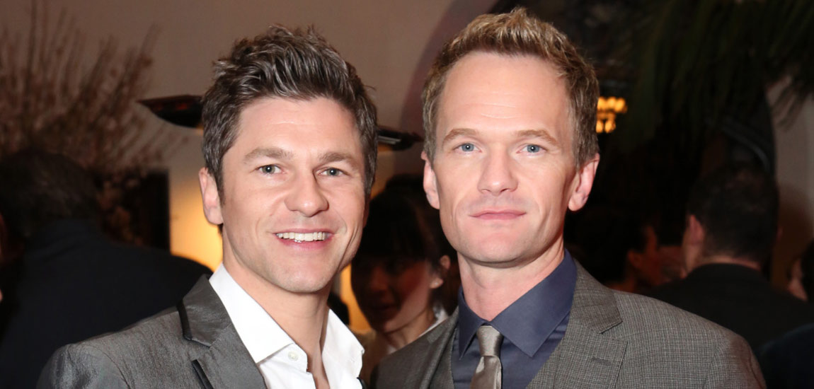 Neil Patrick Harris and fiance David Burtka