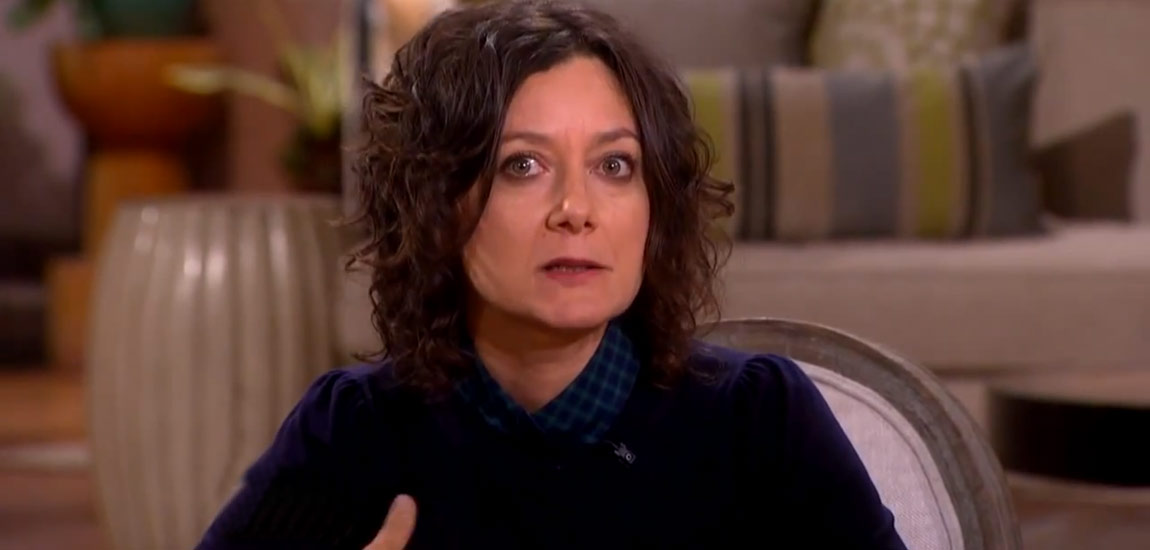 Sara Gilbert on The Talk talking about her sexuality