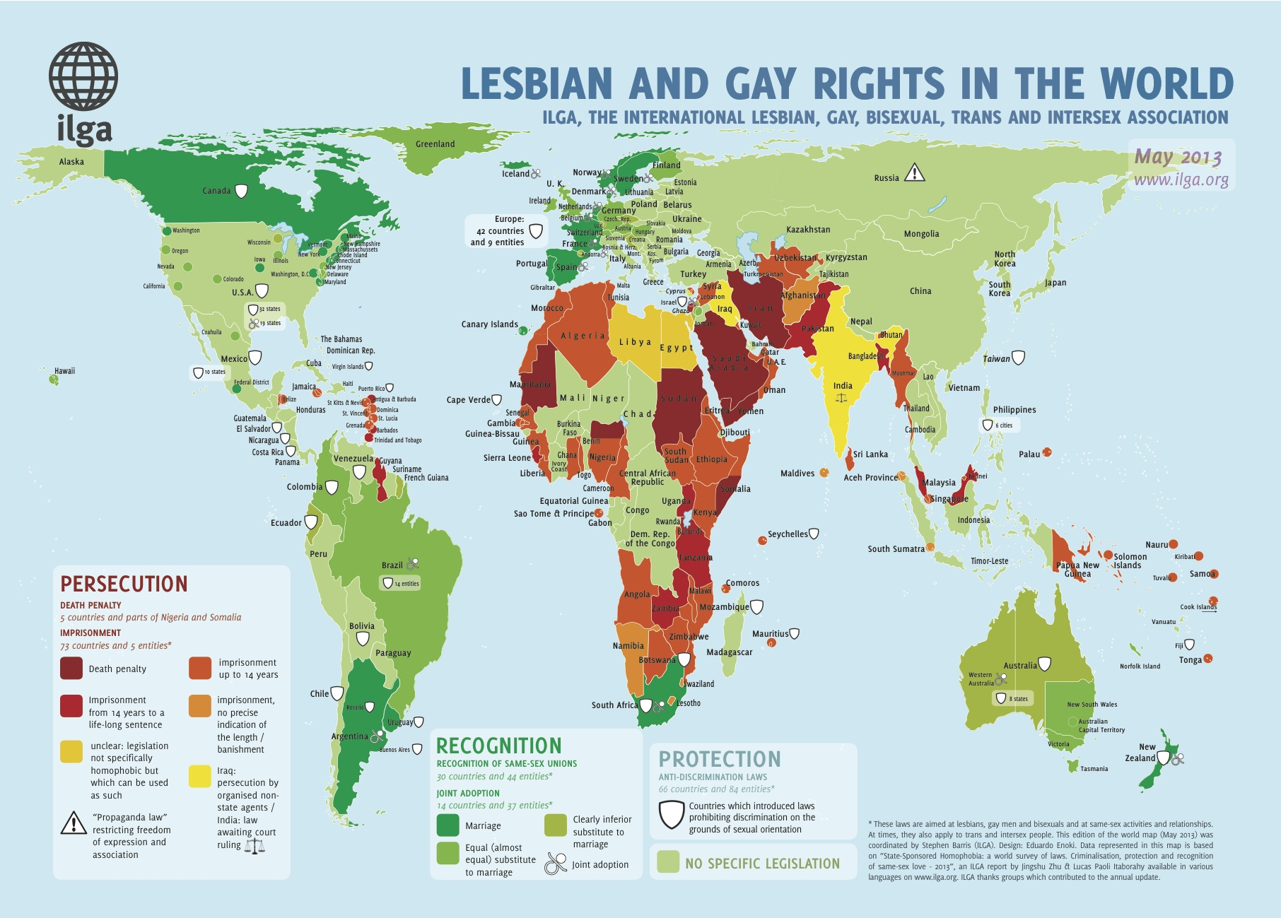 Lesbian And Gay Rights In The World