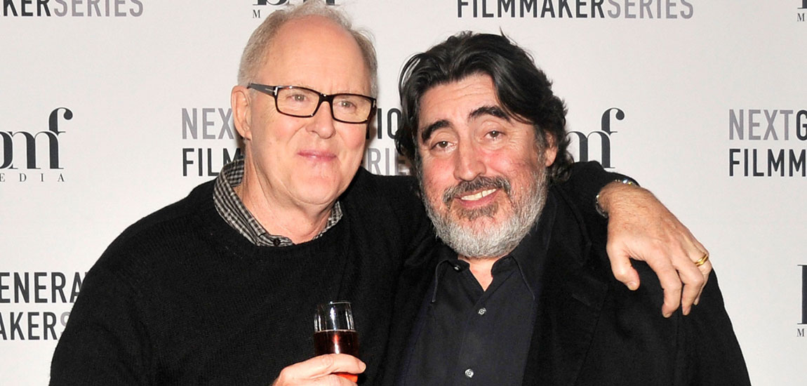 John Lithgow supports gay rights with Alfred Molina