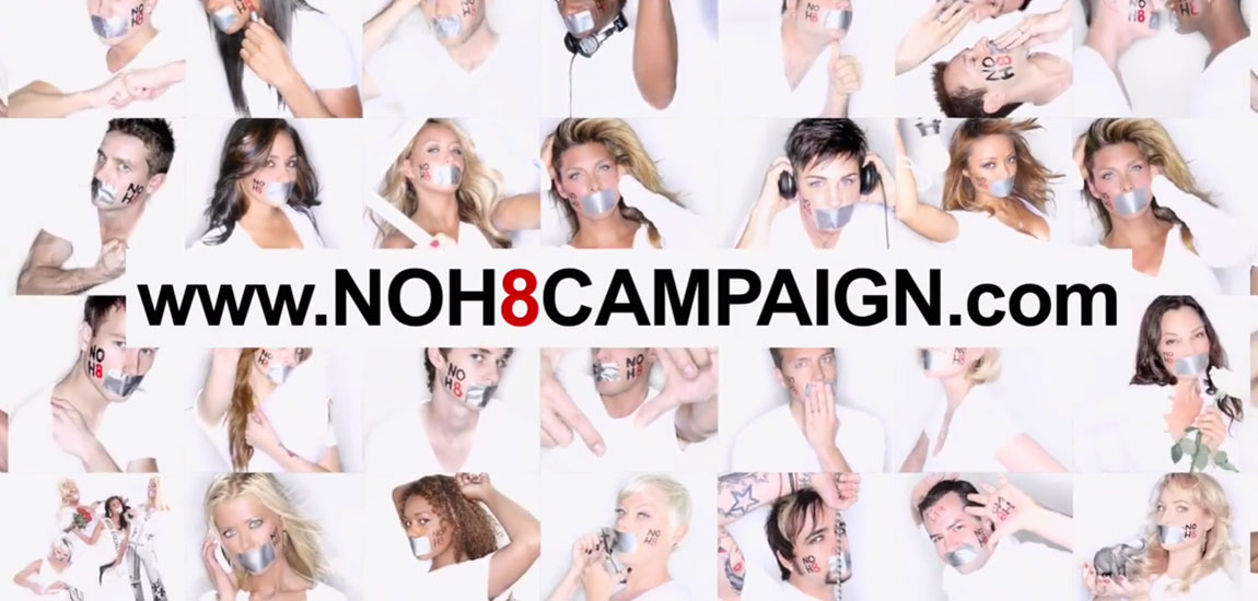 NOH8 Campaign, best coming out videos