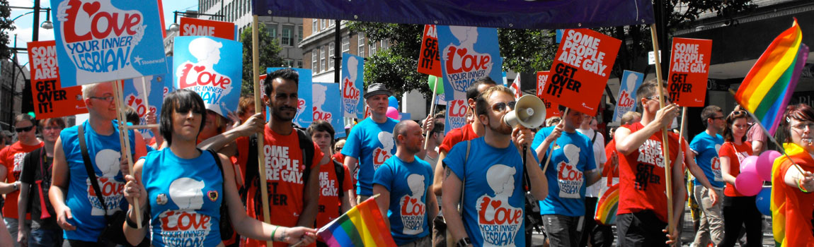 Gay Pride 2014, London