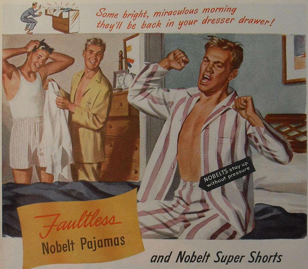 Gay Print Ads, Nobelt