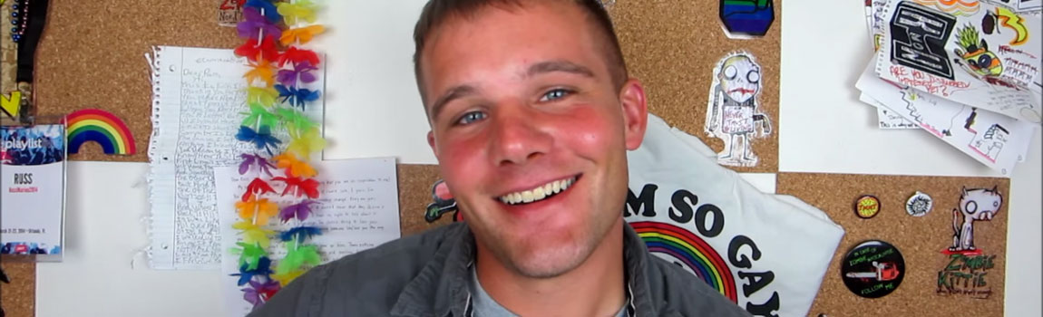 Best Gay Vloggers, Russ Marine