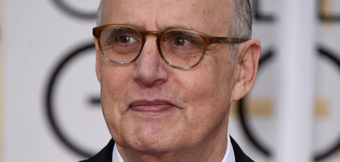Transparent actor Jeffrey Tambor at The Golden Globe Awards 2015