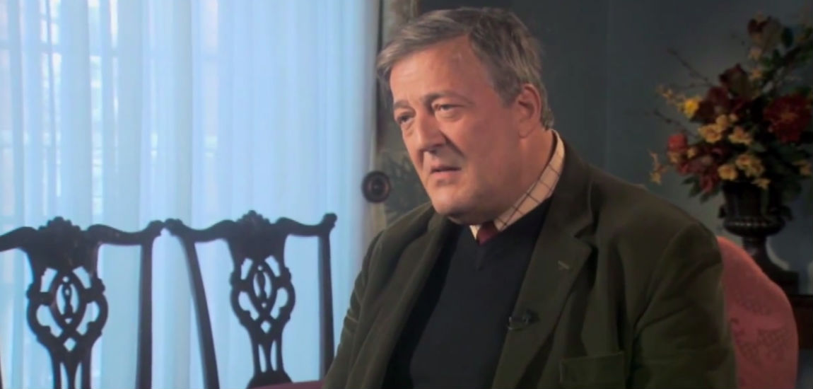 Stephen Fry on The Meaning Of Life, RTE Television