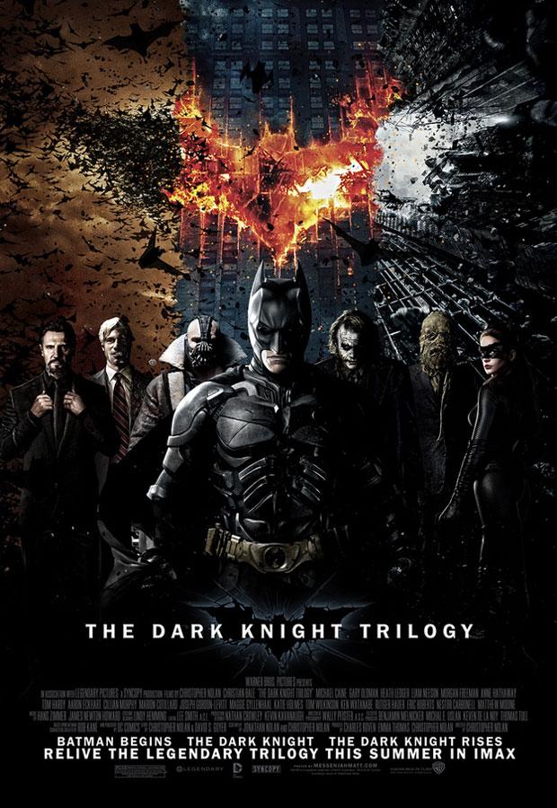 Batman Trilogy fan designed poster