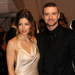 Justin Timberlake and Jessica Biel