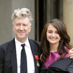 David Lynch and his wife Emily Stolfe