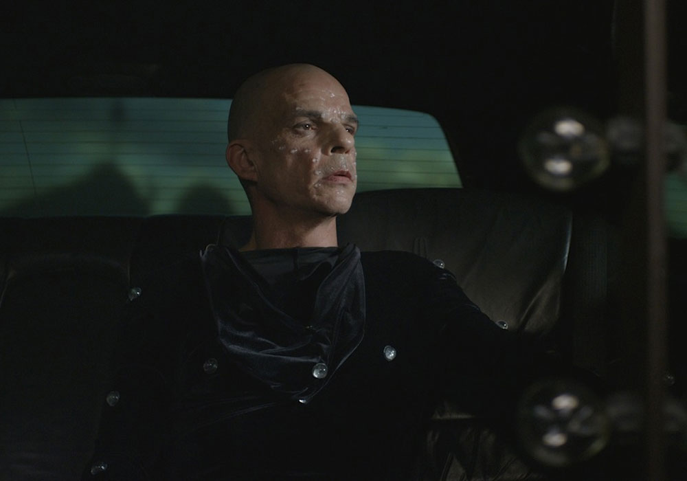 Denis Lavant in Holy Motors movie, Leos Carax, 2012