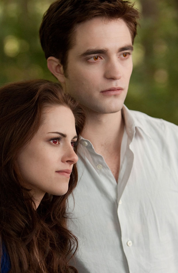 Kristen Stewart Close Up As A Vampire In Breaking Dawn Still