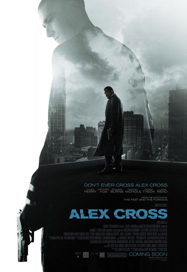 Matthew Fox in the new Alex Cross movie poster