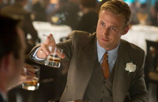 Ryan Gosling in a movie still from upcoming film Gangster Squad