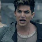 Adam Lambert in the Never Close Our Eyes video