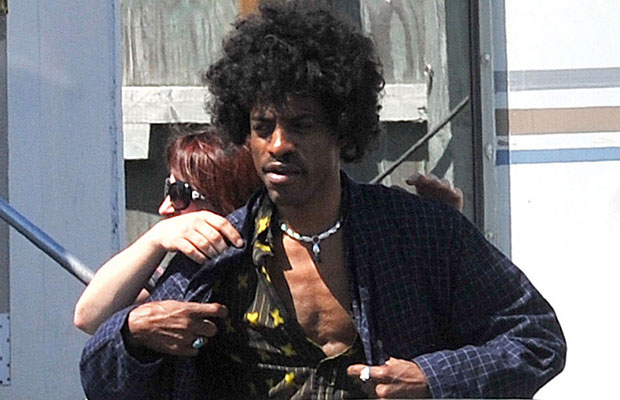 Andre 3000 from Outkast as Jimi Hendrix