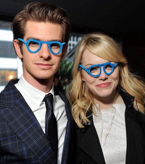 Emma Stone And Andrew Garfield Being Adorable Together