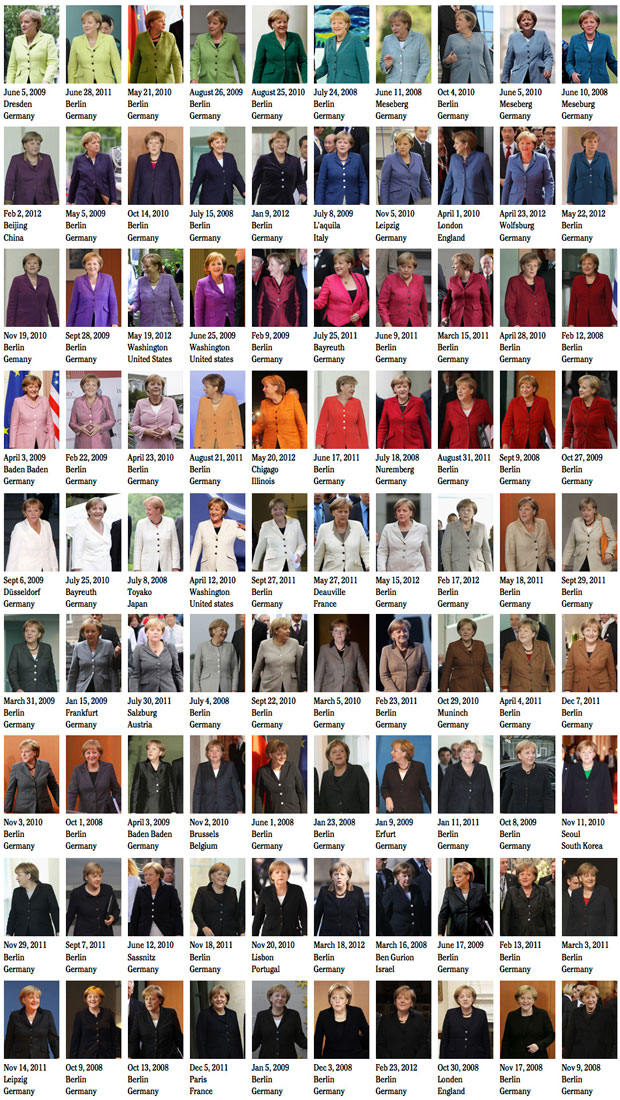 50 Shades Of Angela Merkel