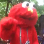 Anti-Semetic Elmo in Central Park
