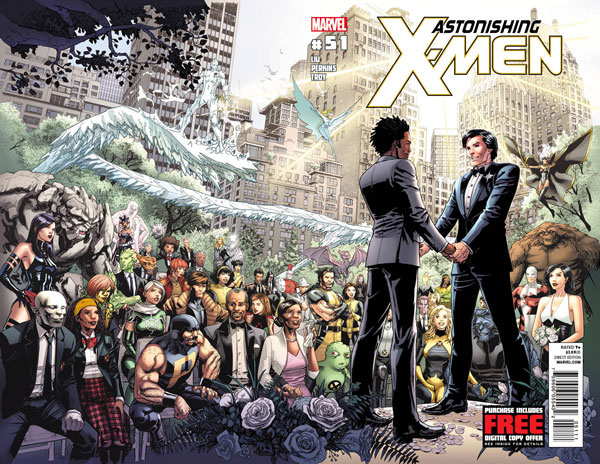 Astonishing X-Men Gay Wedding Cover Recreated In Real Life