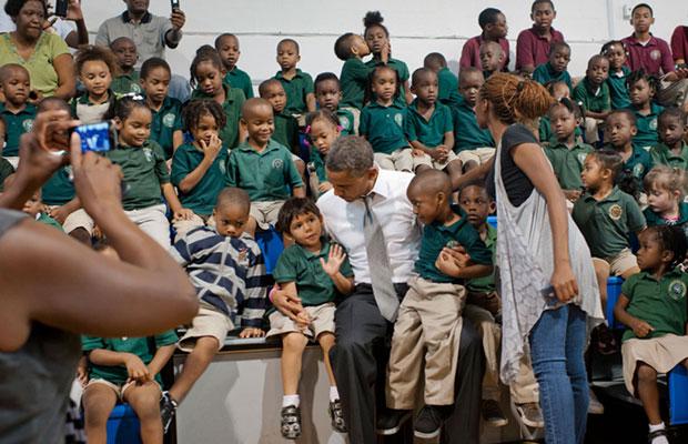 Barack Obama Photobomb