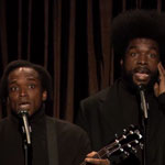 Black Simon and Garfunkel sing Taylor Swift's We Are Never Ever Getting Back Together on Late Night