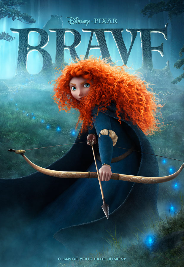 Disney Pixar Brave Poster