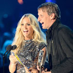Carrie Underwood at the Country Music Television awards (CMT) in June 2012