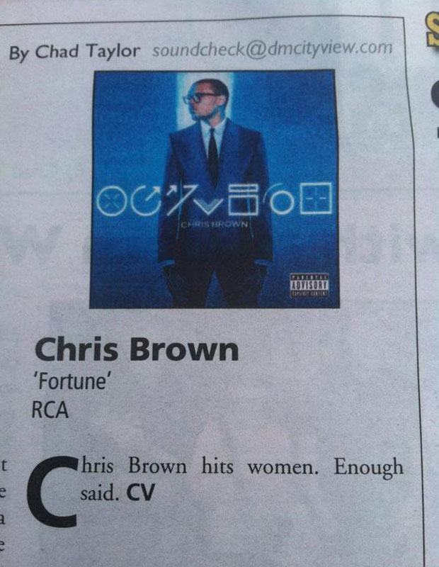 A Very Blunt Review Of Chris Brown's New Album