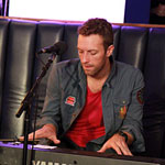 Chris Martin sings We Found Love