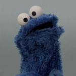 Cookie Monster sings Share It Maybe