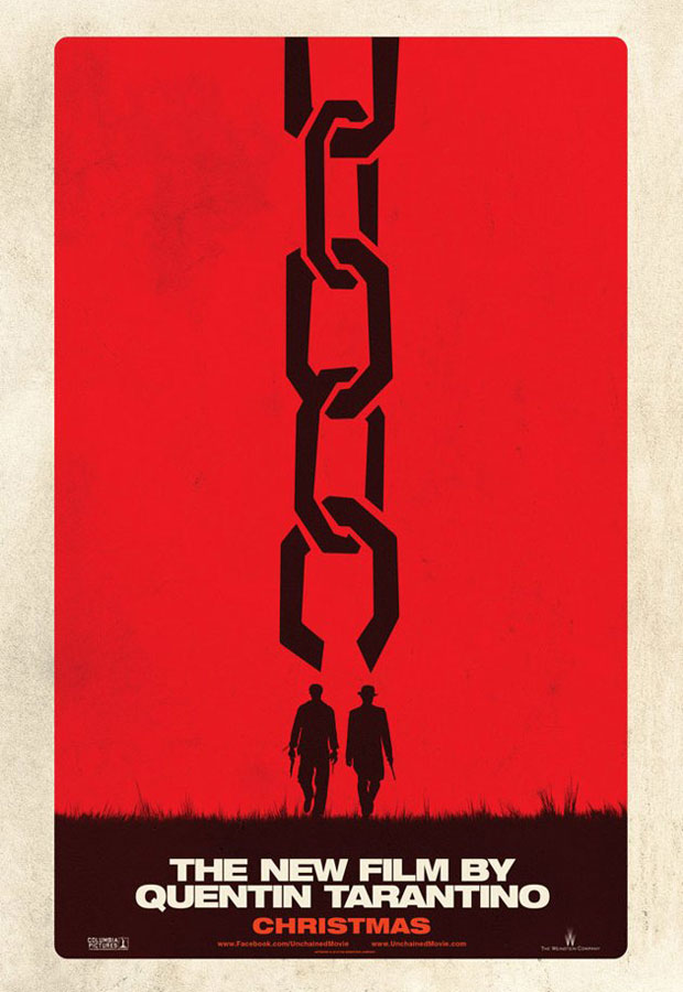 First teaser poster for Django Unchained