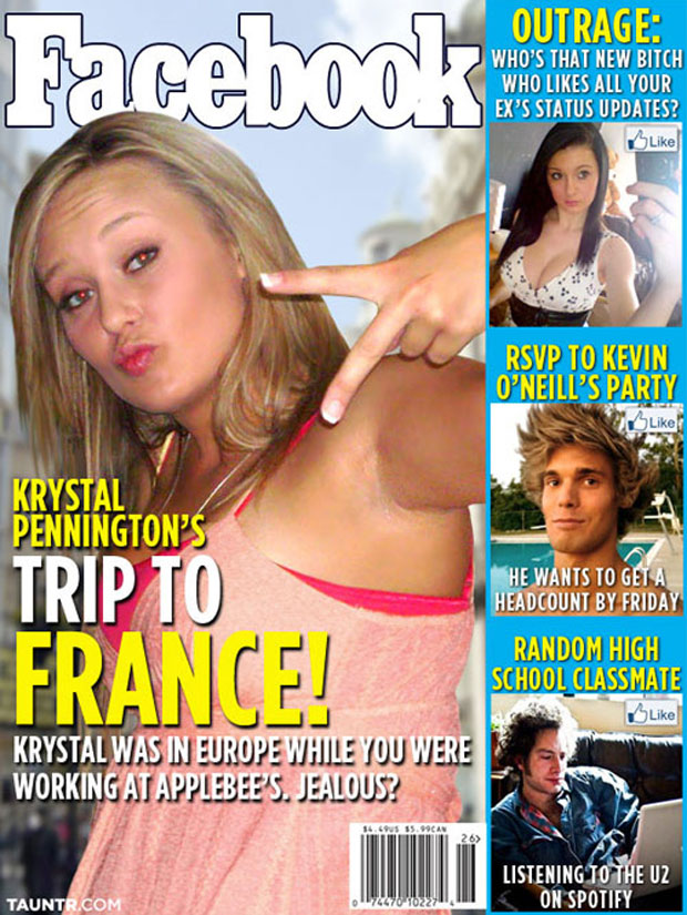 If Facebook Were A Gossip Magazine