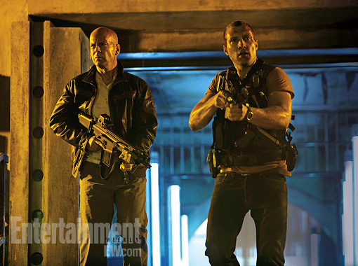 First Official Image From A Good Day To Die Hard AKA Die Hard 5