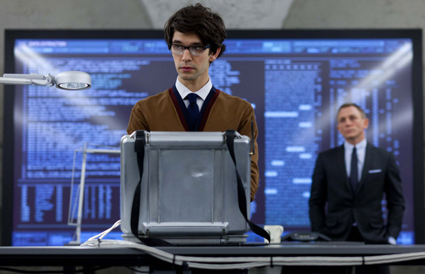 First official image of Ben Whishaw as Q in Skyfall