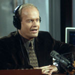 Frasier in the KACL talk studio