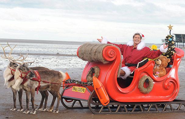 David Hasselhoff Merry Christmas