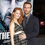 James Van Der Beek and wife Kimberley