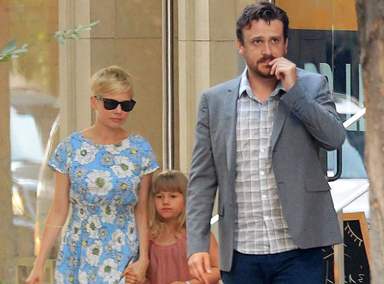Michelle Williams, Jason Segal Go Shopping With Michelle's Daughter Matilda Ledger