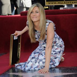 Jennifer Aniston on The Hollywood Walk Of Fame