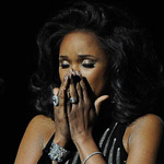 Jennifer Hudson during Whitney Houston Tribute at the 2012 Grammy Awards