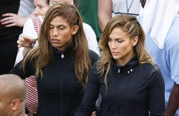 Jennifer Lopez's stunt double