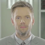 Joel McHale as Michael Fassbender in Prometheus parody video for The Soup