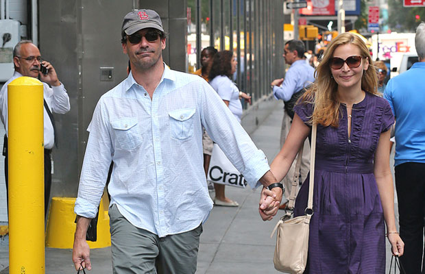 Jon Hamm wearing no underwear under his pants