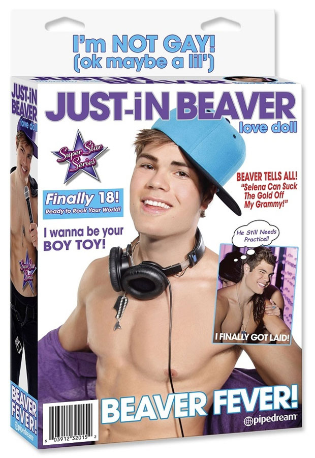 Justin Bieber Beaver Sex Doll